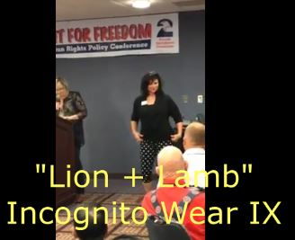 AMM-Con, second amendment, guns, holsters, Lion, lamb