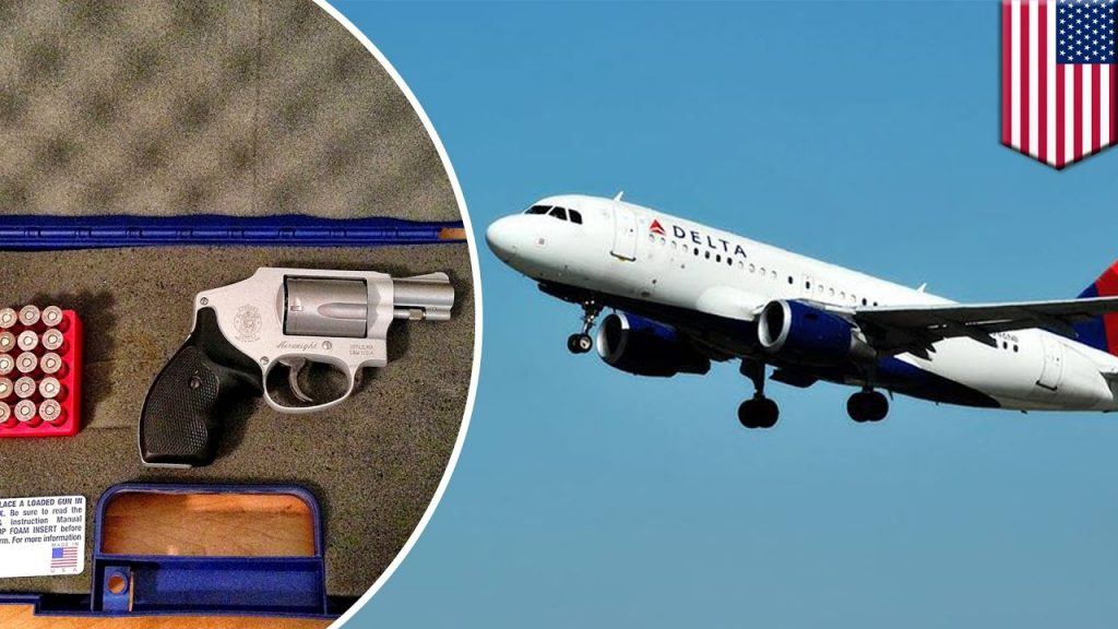 flying with firearms, traveling, gun, pistols, vacation, business travel, safety