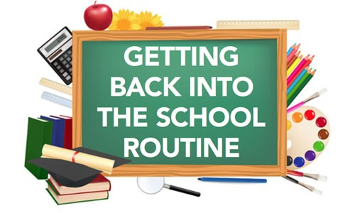 Back to School Routines and keeping the kids safe!
