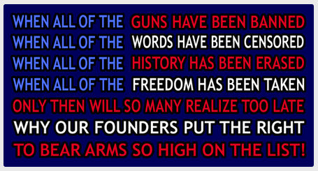 """The battle for """"The Right to Bear Arms"""" needs your help. Here's how you can help in Defending the Second Amendment"""