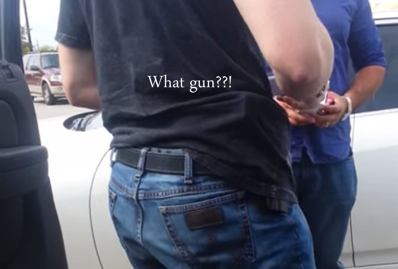 Concealed carry fashion -Learn from my mistakes